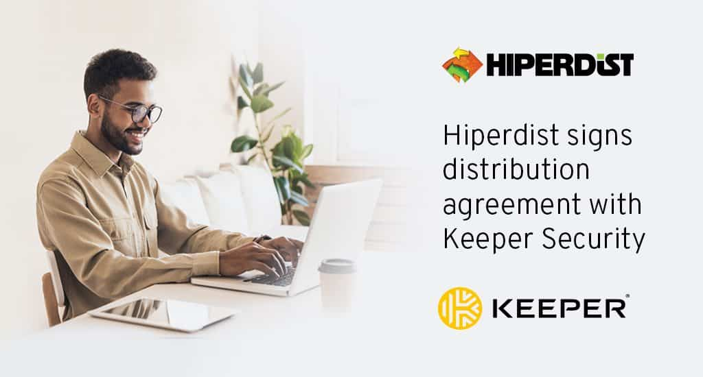 Hiperdist partners with Keeper Security
